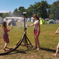 Campsite fun at EWOB 2017 - photo by Jos van der Lelie