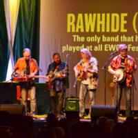 Rawhide on stage at EWOB 2017 - photo by Jos van der Lelie