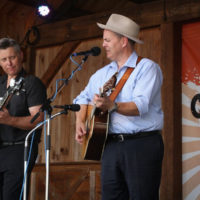 The Gibson Brothers at the 2017 Gettysburg Spring Bluegrass Festival - photo by Frank Baker