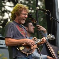 Sam Bush at Old Settler's Music Festival (April 2017) - photo by Amy E. Price