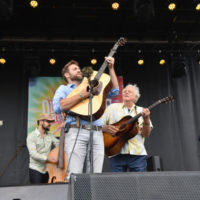 Peter Rowan & Friends at Old Settler's Music Festival (April 2017) - photo by Amy E. Price