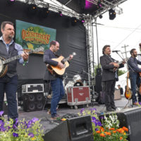 Travelin' McCourys at Old Settler's Music Festival (April 2017) - photo by Amy E. Price