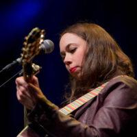 Sarah Jarosz at Old Settler's Music Festival (April 2017) - photo by Tom Dunning
