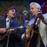 Ronnie and Del McCoury at Old Settler's Music Festival (April 2017) - photo by Amy E. Price