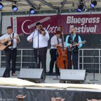 Larry Efaw & the Bluegrass Mountaineers at the 2017 Charlotte Bluegrass Festival - photo © Bill Warren