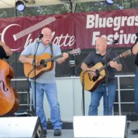 Michigan Mafia String Band at the 2017 Charlotte Bluegrass Festival - photo © Bill Warren