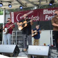 Harbourtown at the 2017 Charlotte Bluegrass Festival - photo © Bill Warren