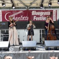 The Bankesters at the 2017 Charlotte Bluegrass Festival - photo © Bill Warren