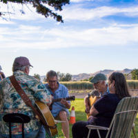 Jams at Taylor's campground at Weiser 2017 - photo © Tara Linhardt