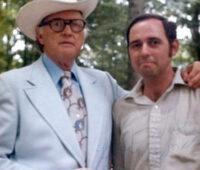 Bill Monroe and Bob Mitchell circa 1975