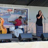 Acoustic Edge at the 2017 Norwalk Music Festival - photo © Bill Warren
