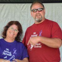 Norwalk Music Festival promoters Jo and Kirk Hickman - photo © Bill Warren