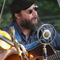 Trae Buckner with The Hillbilly Gypsies at the 2017 Remington Ryde Bluegrass Festival - photo by Frank Baker