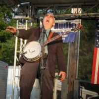 Billy Lee Cox with Remington Ryde at the 2017 Remington Ryde Bluegrass Festival - photo by Frank Baker
