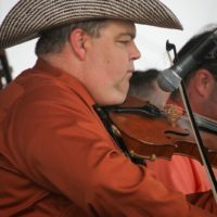 Jonathan Rigsby with Feller & Hill and the Bluegrass Buckaroos at the 2017 Remington Ryde Bluegrass Festival - photo by Frank Baker