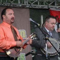 Feller & Hill at the 2017 Remington Ryde Bluegrass Festival - photo by Frank Baker
