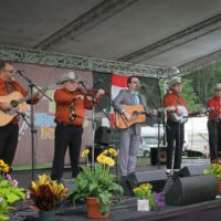 Ralph Stanley II and The Clinch Mountain Boys at the 2017 Remington Ryde Bluegrass Festival - photo by Frank Baker