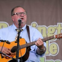 Danny Paisley at the 2017 Remington Ryde Bluegrass Festival - photo by Frank Baker