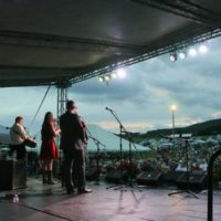 Flatt Lonesome at the 2017 Remington Ryde Bluegrass Festival - photo by Frank Baker