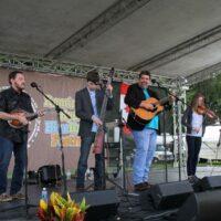 Circa Blue at the 2017 Remington Ryde Bluegrass Festival - photo by Frank Baker