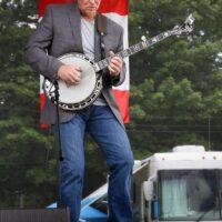Matt Hickman with Circa Blue at the 2017 Remington Ryde Bluegrass Festival - photo by Frank Baker