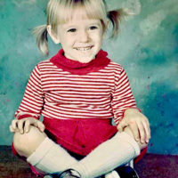 Monica Taylor at 4 years old