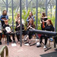 Irish music performance at Ardara Bluegrass Festival - photo by Lorraine Jordan