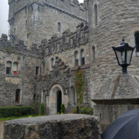 Lorraine's first Irish castle! - photo by Lorraine Jordan