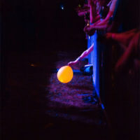One balloon escapes at Red Wiing Roots 2017 - photo © Gina Elliott Proulx