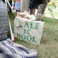 Kale rules at Red Wiing Roots 2017 - photo © Gina Elliott Proulx