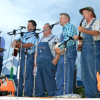 Tennessee Mafia Jug Band performs at the 2017 Smithville Fiddlers Jamboree - photo by Bill Conger