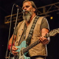 Steve Earle at Red Wiing Roots 2017 - photo © Gina Elliott Proulx