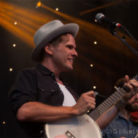 Trent Wagler with Steel Wheels at Red Wiing Roots 2017 - photo © Gina Elliott Proulx