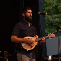 Jay Lapp with Steel Wheels at Red Wiing Roots 2017 - photo © Gina Elliott Proulx