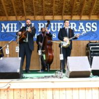 Michael Cleveland & Flamekeeper at the 2017 Milan Bluegrass Festival - photo © Bill Warren