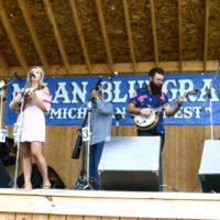 Summer Brooke and The Mountain Faith Band at the 2017 Milan Bluegrass Festival - photo © Bill Warren
