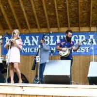 Summer Brooke and The Mountain Faith Band at the 2017 Milan Bluegrass Festival - photo © Bill Warren