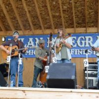 Nothin Fancy at the 2017 Milan Bluegrass Festival - photo © Bill Warren