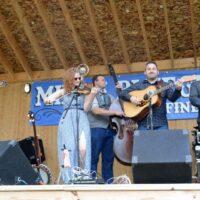 The Becky Buller Band at the 2017 Milan Bluegrass Festival - photo © Bill Warren