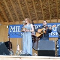 The Becky Buller Band at the 2017 Milan Bluegrass Festival - photo © Bill Warren