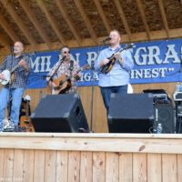 Lonesome River Band at the 2017 Milan Bluegrass Festival - photo © Bill Warren