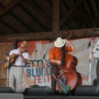 The Cleverlys at the August 2017 Gettysburg Bluegrass Festival - photo by Frank Baker
