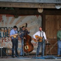 Jeff Brown & Still Lonesome at the August 2017 Gettysburg Bluegras Festival - photo by Frank Baker