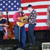 Jeff Scroggins & Colorado at the 2017 Nothin' Fancy Bluegrass Festival - photo © Bill Warren