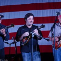 Ronnie Reno and Reno Tradition (with Dale Reno) at the 2017 Nothin' Fancy Bluegrass Festival - photo © Bill Warren