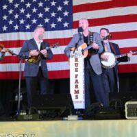 Joe Mullins & The Radio Ramblers at the 2017 Nothin' Fancy Bluegrass Festival - photo © Bill Warren