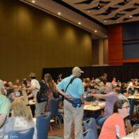 Gig fair at the 2017 World of Bluegrass in Raleigh, NC - photo © Bill Warren