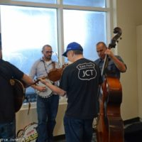 Jamming at the 2017 World of Bluegrass in Raleigh, NC - photo © Bill Warren