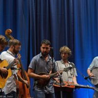 Fireside Collective showcasing at the 2017 World of Bluegrass in Raleigh, NC - photo © Bill Warren