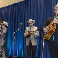 Po' Ramblin' Boys showcasing at the 2017 World of Bluegrass in Raleigh, NC - photo © Bill Warren